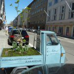 transportabler Minigarten – direkt neben Ballabeni ;)