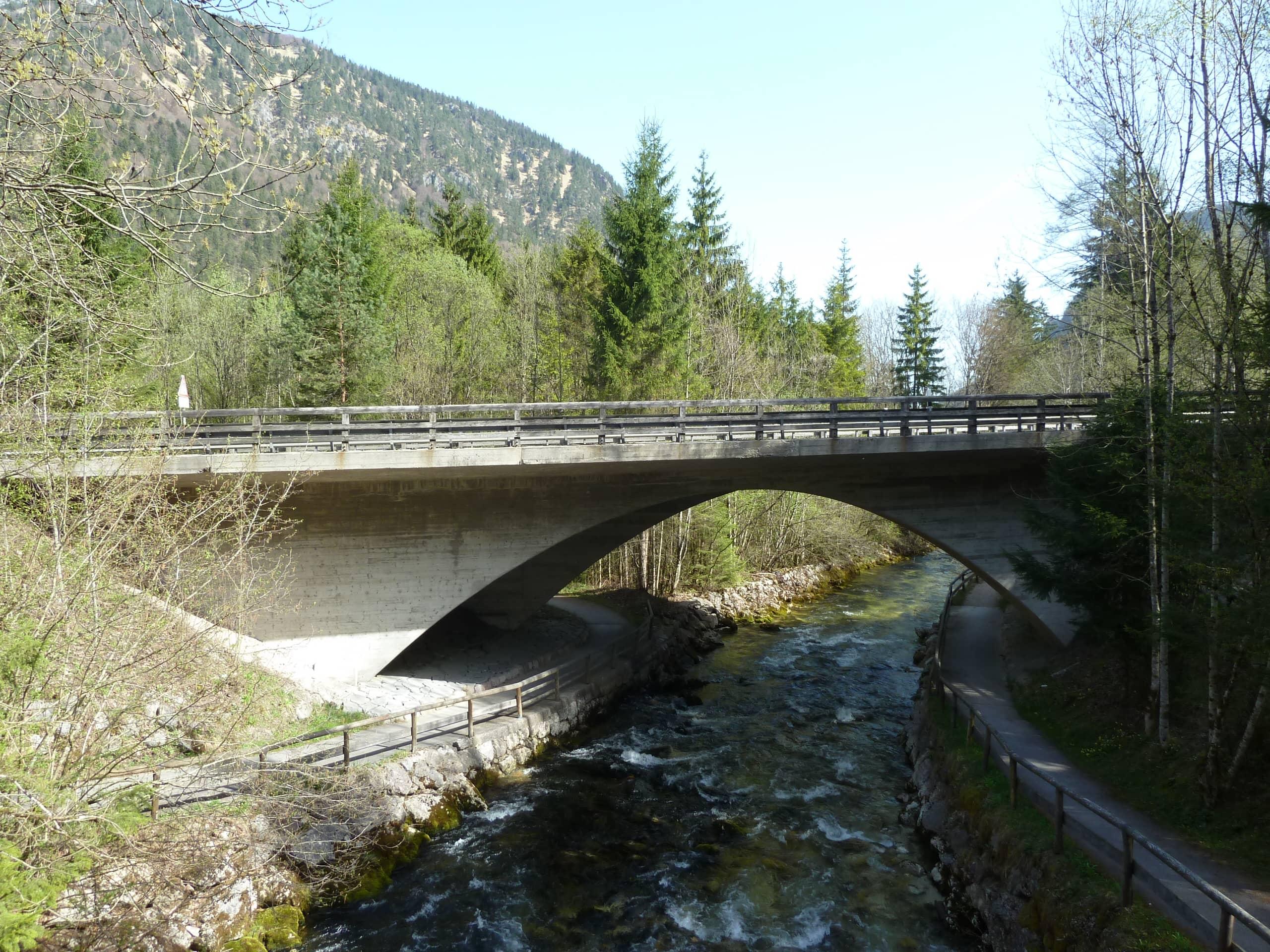 Brücke bei Unterjettenberg