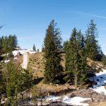 Weg zum Berggasthof Hirschkaser