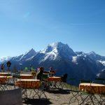 Bergpanorama mit Watzmann