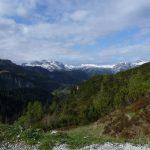 Ausblick in der Nähe der Jenner Bergstation
