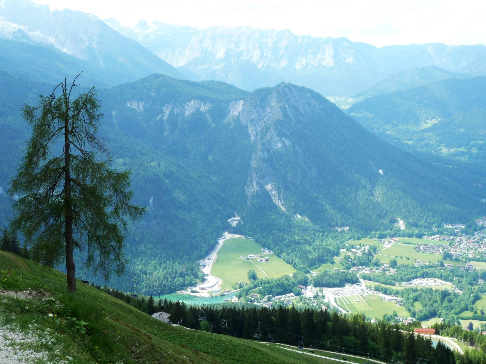 Blick auf Königssee und Grünstein