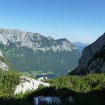 Blick auf Hintersee von der Blaueishütte