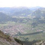 Sicht auf Oberstdorf vom Rubihorn aus