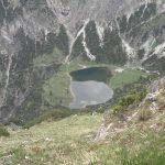 Sicht auf Gaißalpsee vom Rubihorngipfel