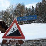 Steigung 29% –> purer Spaß gerade im Winter