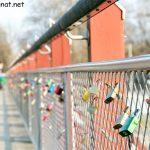 Schlösser an der Thalkirchner Brücke