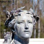 Statue bei den Brunnen von Herrenchiemsee