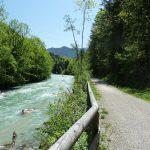 Weg Richtung Berchtesgaden