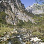 Zufluss zum Königssee vom Obersee