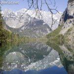 Wasserspiegelung am Obersee / Königssee
