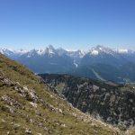 Watzmann und Hochkalter vom Untersberg (Berchtesgadener Hochthron) gesehen
