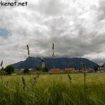 Blick auf den Untersberg von Feldkirchen aus gesehen