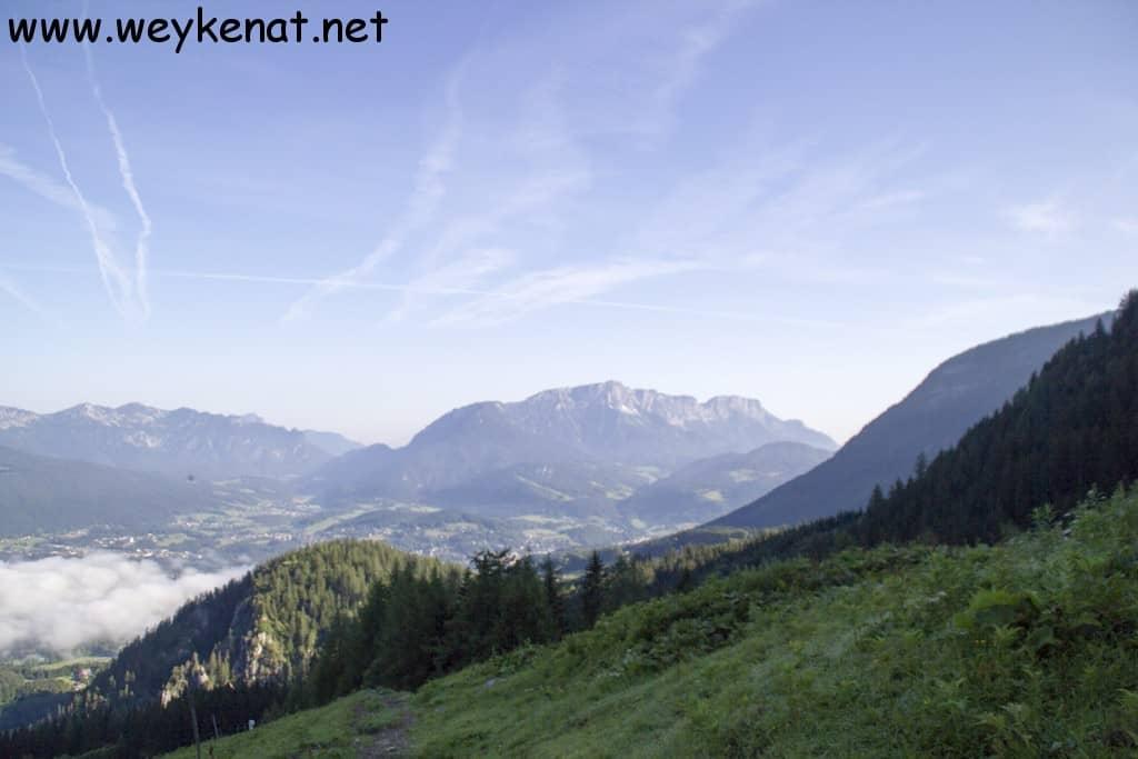 Blick auf den Untersberg vom Jenner aus