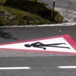 Achtung Fußgänger