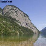 Blick auf den Königssee und die Archenkanzel