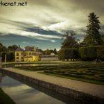 Blick auf das Schloss Hellbrunn