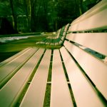 Sitzbänke im Kurpark 1