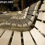 Sitzbänke im Kurpark 2