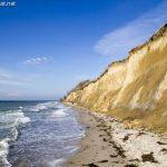 Steilküste in Ahrenshoop – bei Sonnenschein