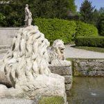 Skulpturen bei den Wasserspielen in Hellbrunn