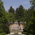 Blick vom Schloss auf den Fürstentisch