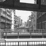 Blick durch die Speicherstadt