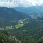 Blick vom Karkopf auf Bad Reichenhall und Piding