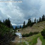 Grund fürs Umkehren – viele dunkle Wolken