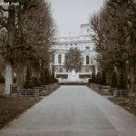 Blick in den Volksgarten Wien