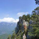 Blick vom Gipfelgrat Richtung Hochstaufen