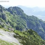 Blick auf die Toni Lenz Hütte