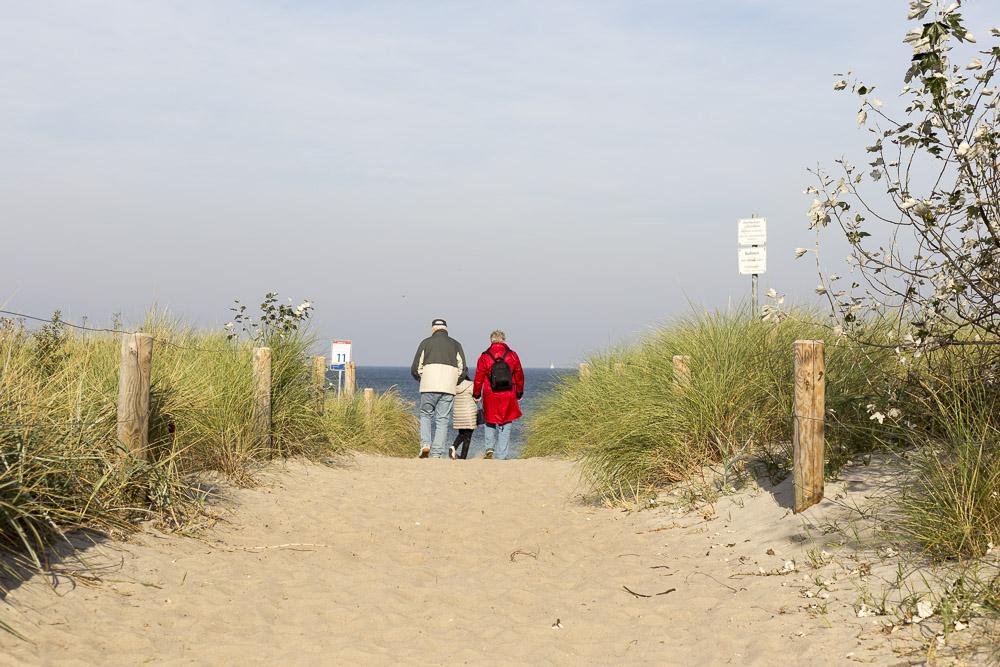 Strandspaziergang im Herbst - Ahrenshoop